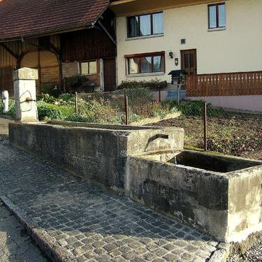 Brunnen Wil vor der Renovation
